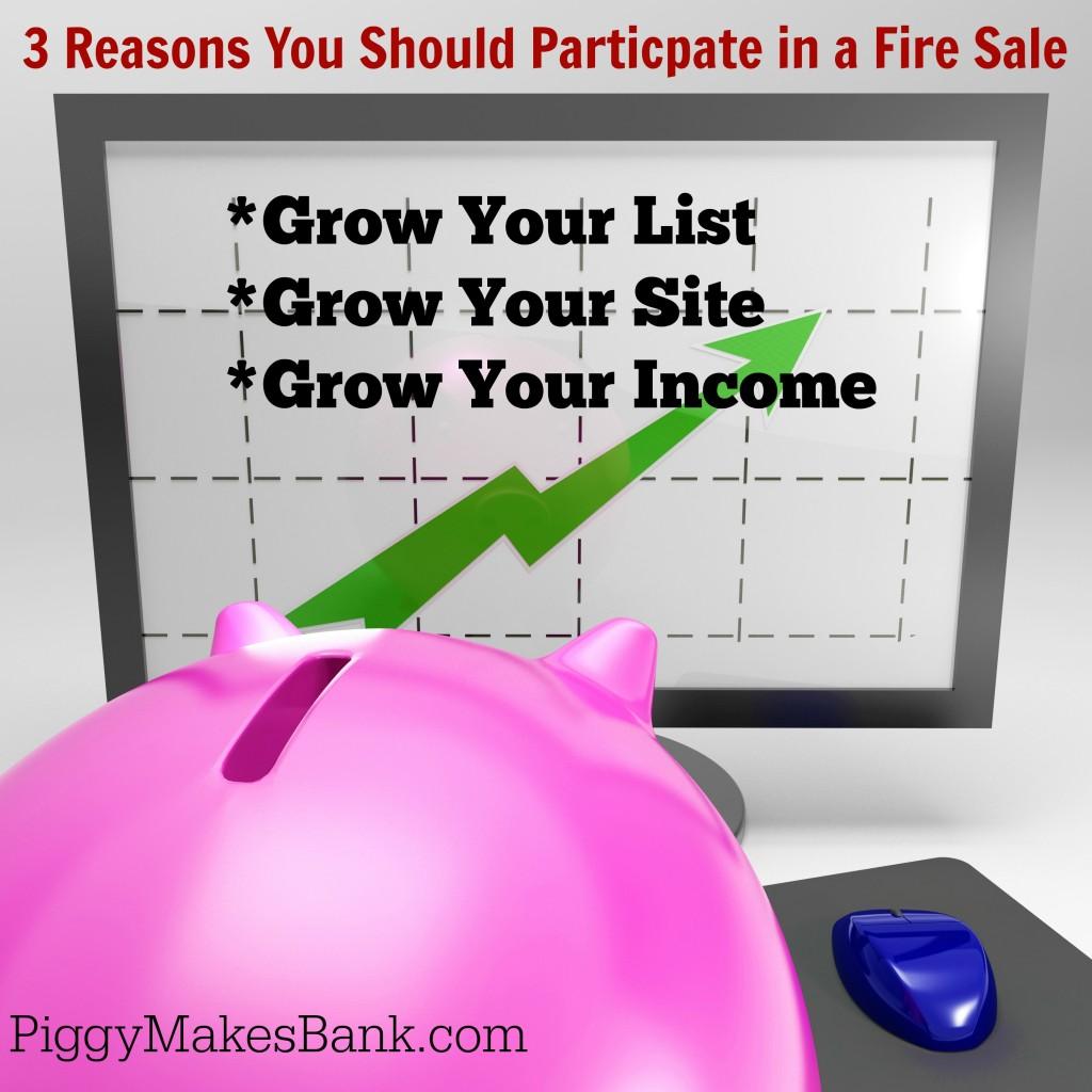 3 Reasons Fire Sale Participation