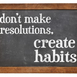 5 Articles on creating and sticking to new habits for life.