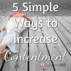 Increase Contentment
