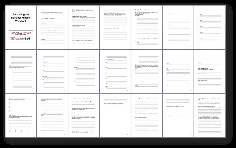 Decluttering Workbook