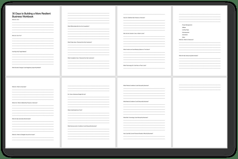 Adding Resilience Workbook