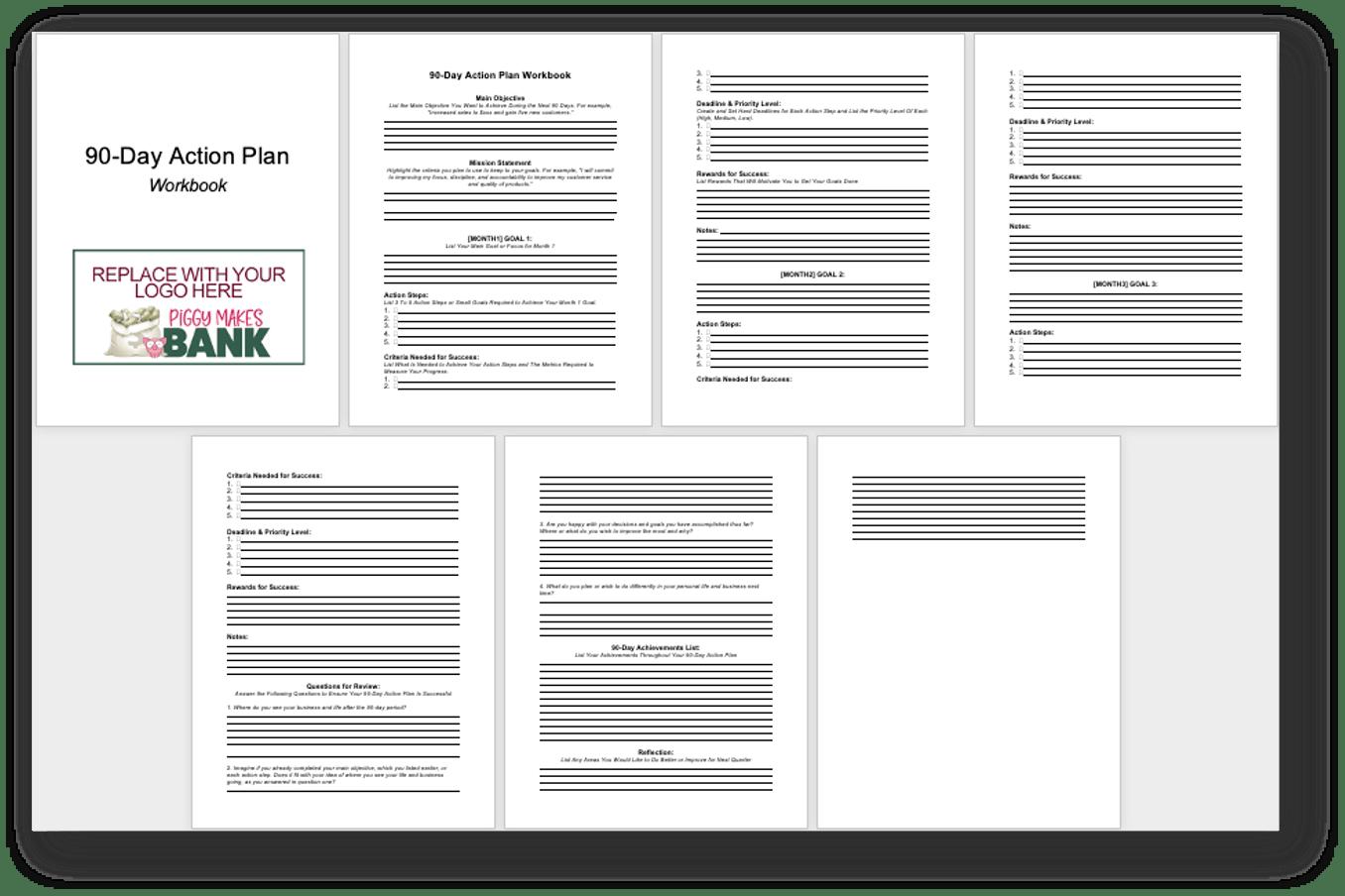 Quarterly Planning Workbook